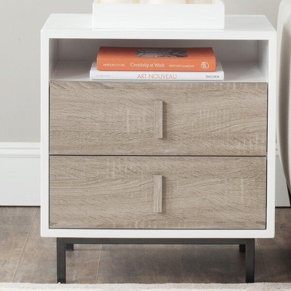 Delbert End Table with Storage by Brayden Studio