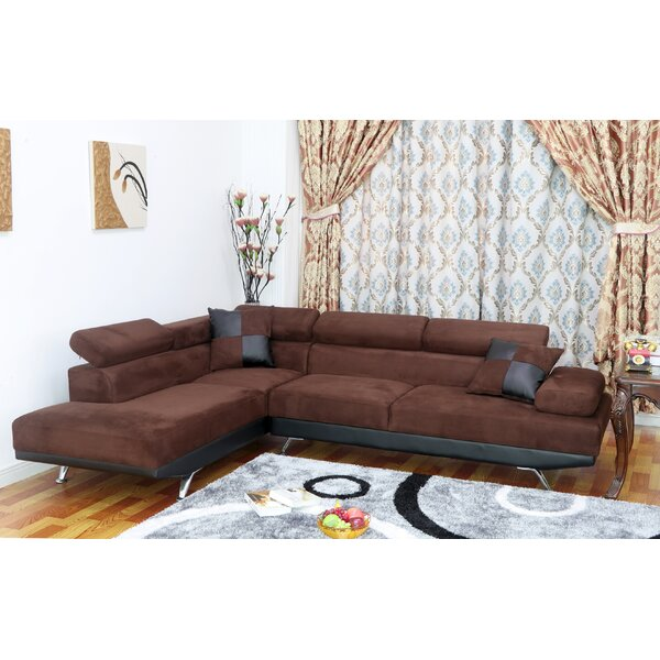 Damos Reclining Sectional by Latitude Run