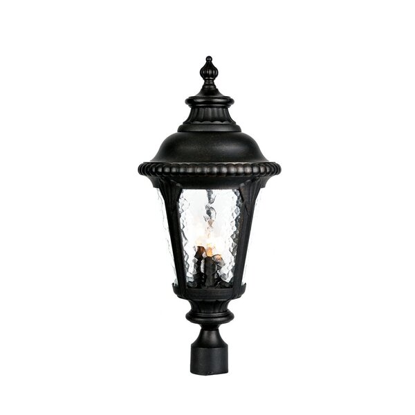 Appel Outdoor 3-Light Lantern Head by Astoria Grand