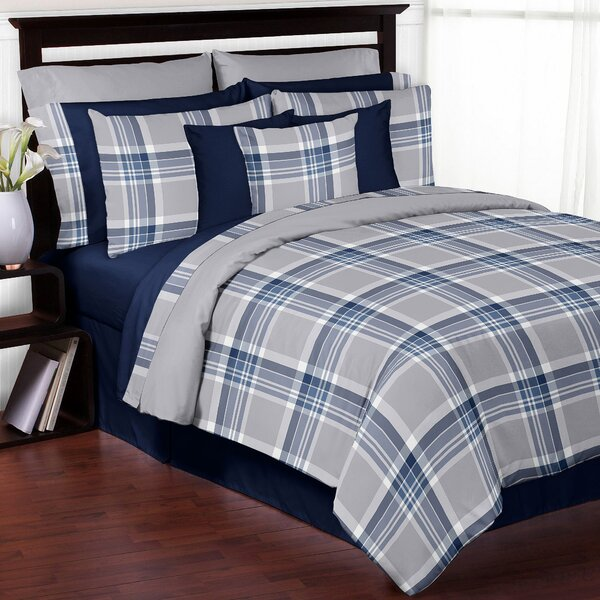 Plaid Comforter Set by Sweet Jojo Designs