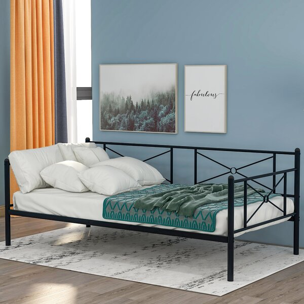Inayah Twin Metal Daybed By Red Barrel Studio