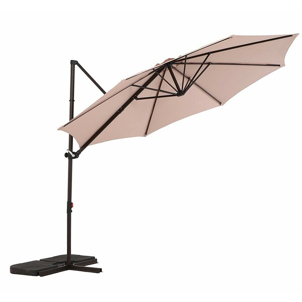 Treyvon 10' Cantilever Umbrella By Darby Home Co by Darby Home Co New