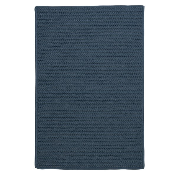 Glasgow Blue Indoor/Outdoor Area Rug by Charlton Home