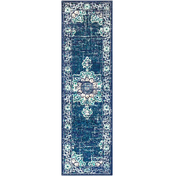 Ramsay Blue/Gray Area Rug by Bungalow Rose