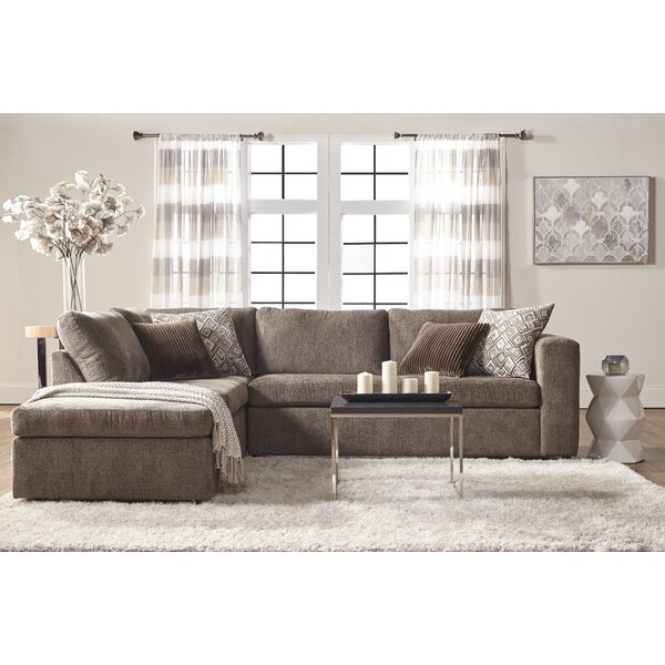 Nowicki 96.9-inch Left Hand Facing Sectional By Mercury Row