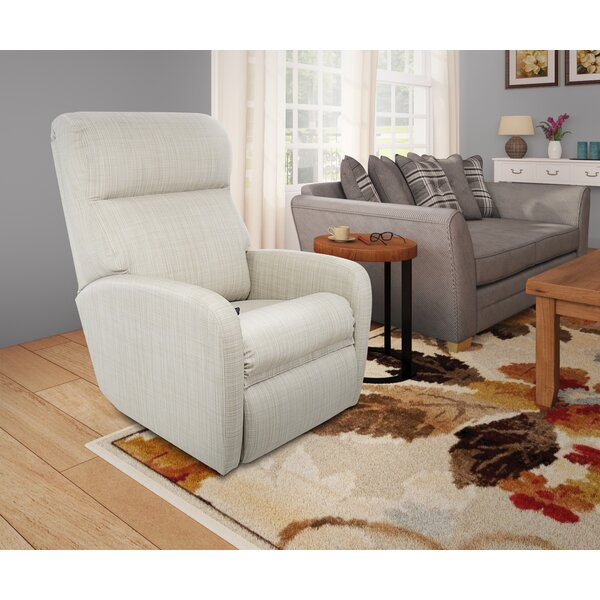 Fabric Winston Porter Transitional Plush Space Saver Recliner By Winston Porter