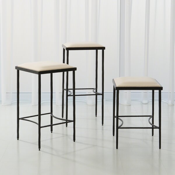 Hammered 31 Bar Stool by Global Views