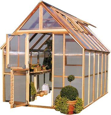 Mt. Rainier 8 Ft. W x 12 Ft. D GardenHouse by Sunshine Gardenhouse