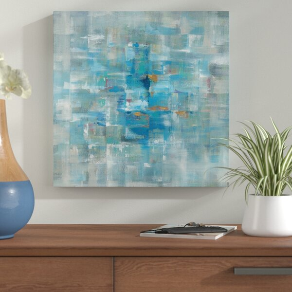 Abstract Squares Painting Print on Wrapped Canvas by Corrigan Studio