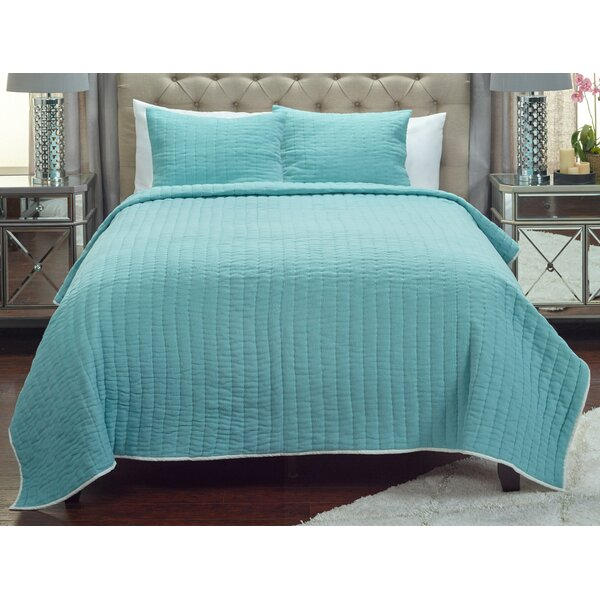 Sorrell Reversible Quilt by Rosecliff Heights