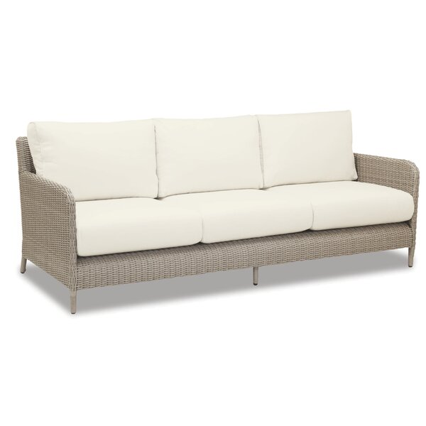 Manhattan Sofa with Cushions by Sunset West Sunset West