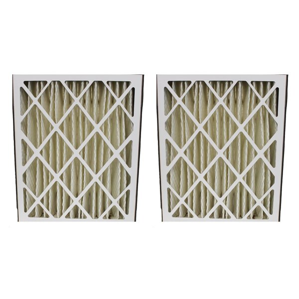 Lennox Merv Replacement Air Filters Fit (Set of 2) by Crucial