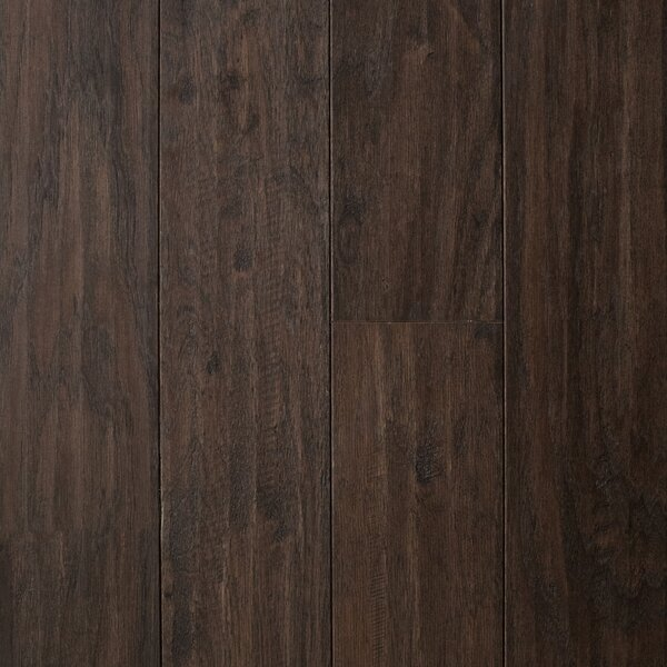 Cologne 5 Engineered Hickory Hardwood Flooring in Brown by Branton Flooring Collection