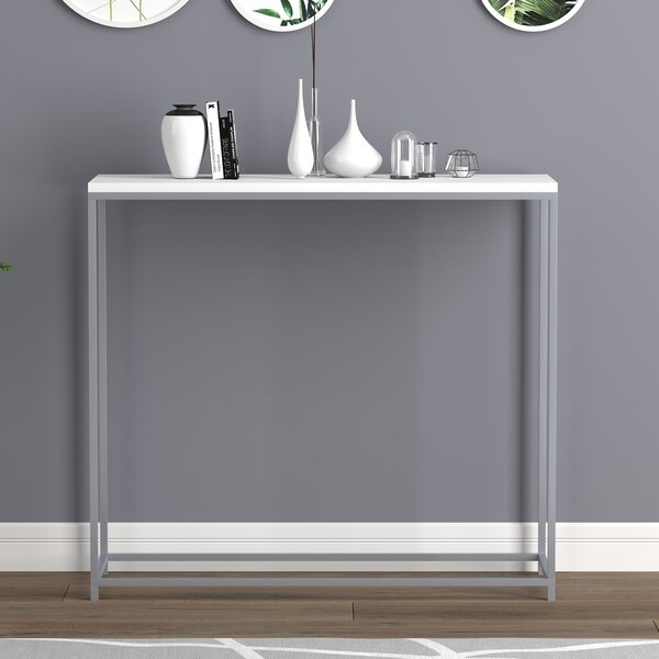 Read Reviews Union Point Console Table by Orren Ellis