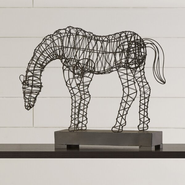 Horse Figurine by Laurel Foundry Modern Farmhouse