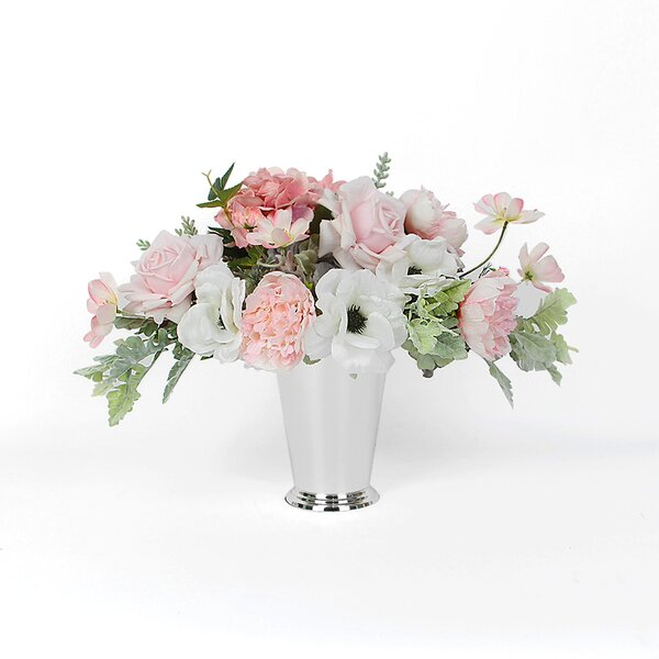 Mixed Centerpiece in Vase by Rosdorf Park