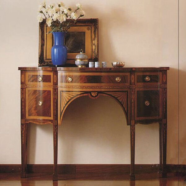 Annibale Colombo Brown Console Tables