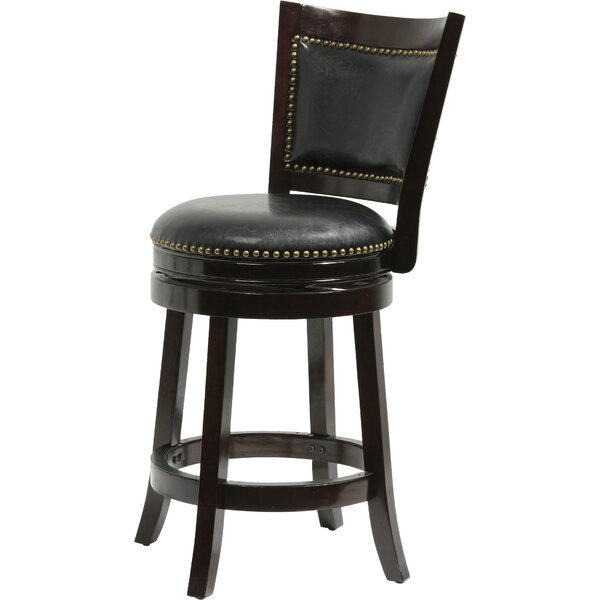 Carstensen 29 Swivel Bar Stool by Darby Home Co