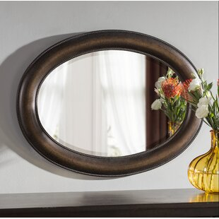Alcott Hill Traditional Oval Accent Mirror