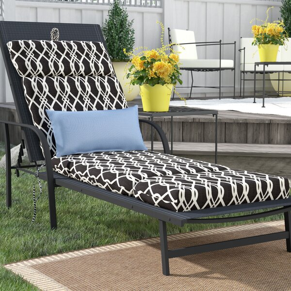 Indoor/Outdoor Chaise Lounge Cushion by Alcott Hill