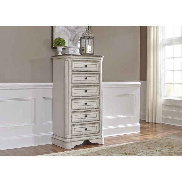 Treport 6 Drawer Lingerie Chest by One Allium Way