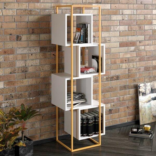 Agda Geometric Bookcase By Ebern Designs