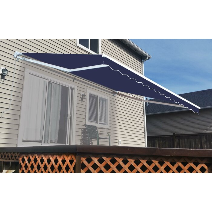D Retractable Patio Awning