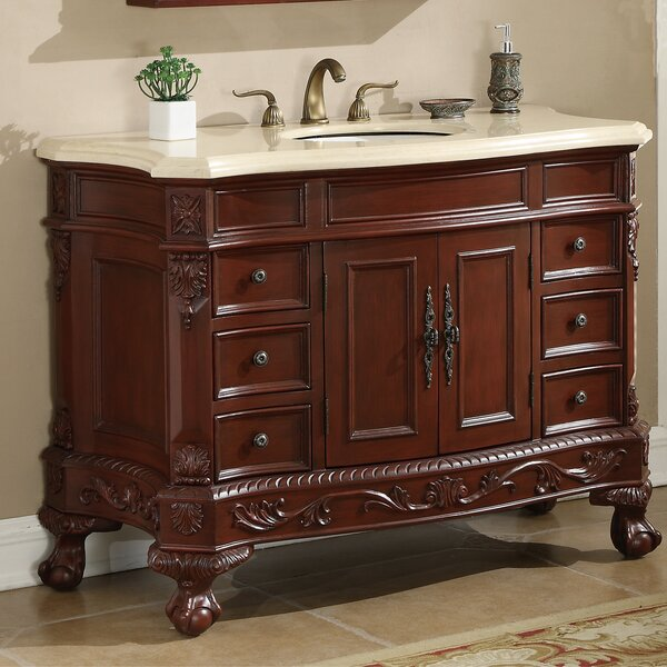 Chelsea 48 Single Bathroom Vanity Set by Durian, Inc.