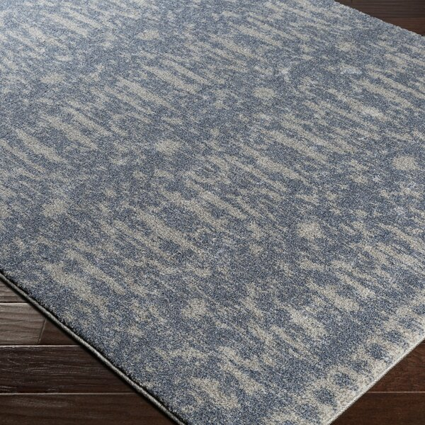 Carmel Traditional Blue Area Rug by Bungalow Rose