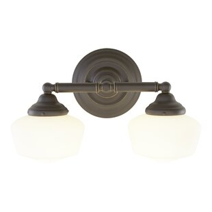 Coupon Sainz 2-Light Vanity Light By Laurel Foundry Modern Farmhouse