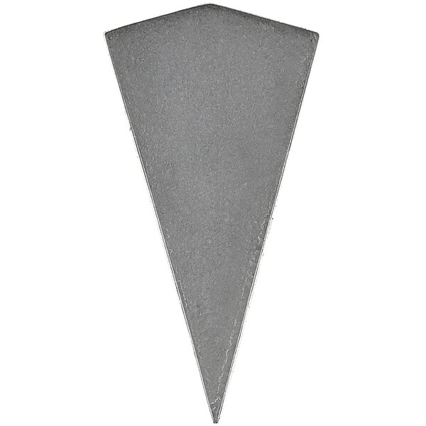 Urban Pyramid 2.5 x 7 Cement Mosaic Tile in Gray by Madrid Ceramics