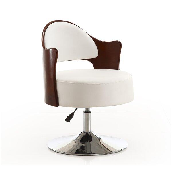 Henslee Swivel Barrel Chair by Orren Ellis