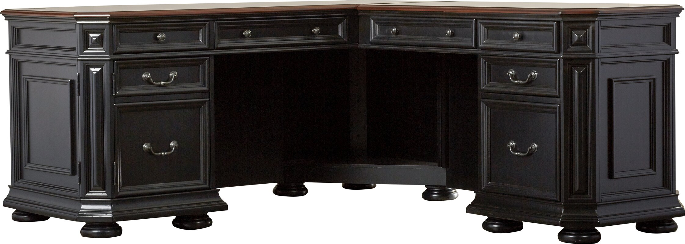 Stina L-Shaped Executive Desk