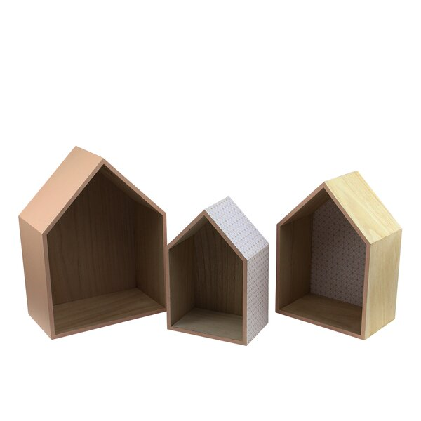 Basic Luxury 3 Piece Decorative Bird House Set by Northlight Seasonal