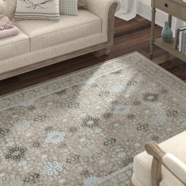 Riviere Gray/Green Area Rug by Lark Manor