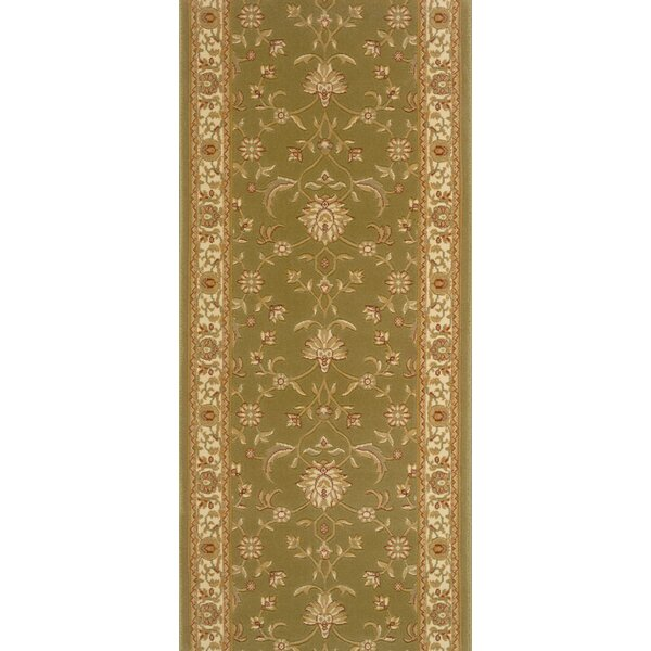 Samthar Green Area Rug by Meridian Rugmakers