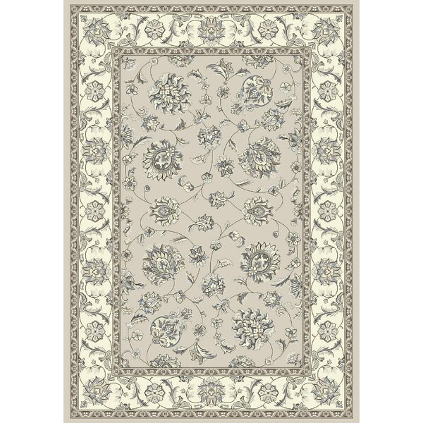 Attell Soft Gray/Cream Area Rug by Astoria Grand