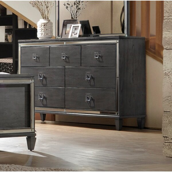 Ezio 7 Drawer Double Dresser by House of Hampton