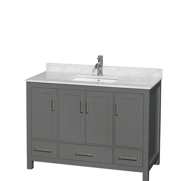 Sheffield 48 Single Bathroom Vanity Set by Wyndham Collection