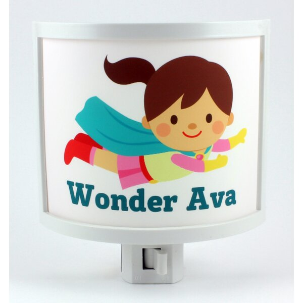 Flying Hero Personalized Night Light by Common Rebels