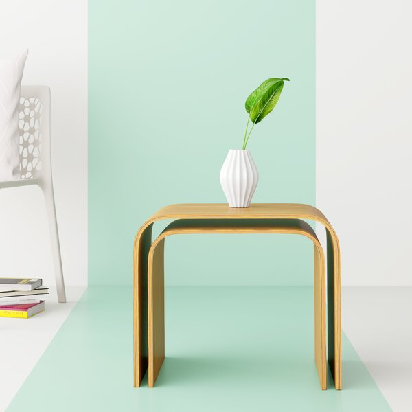 Kiril Bentwood Nesting Tables by Hashtag Home