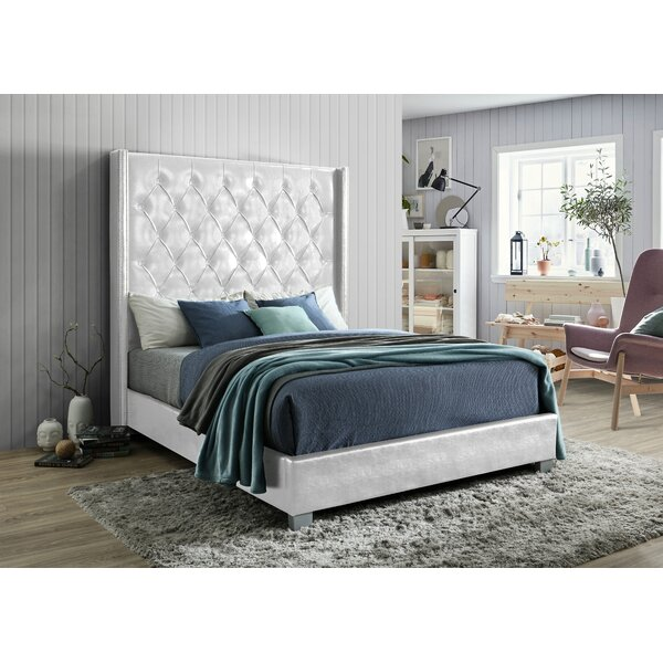 Brian Upholstered Standard Bed by Rosdorf Park