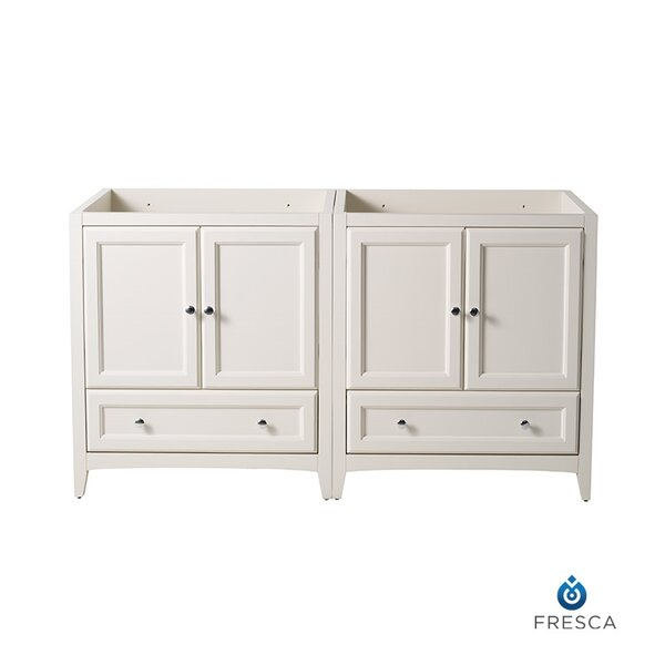 Oxford 59 Double Bathroom Vanity Base Only
