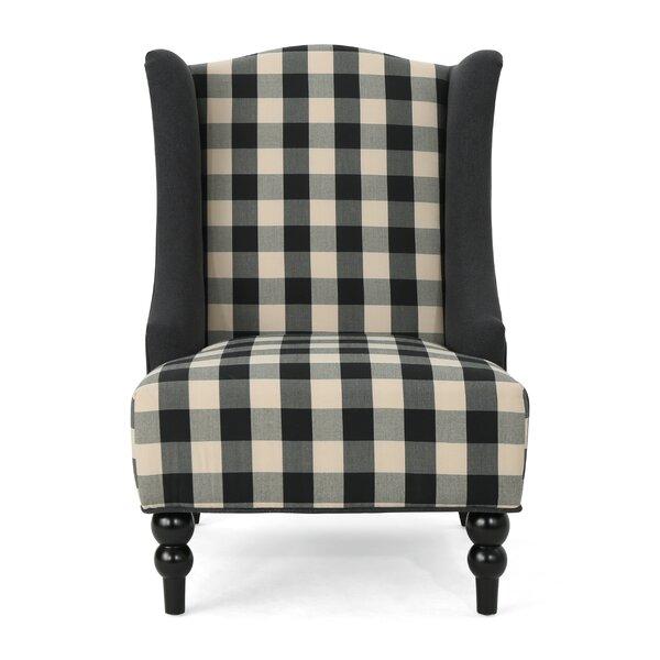 Alejandra Wingback Chair by Charlton Home