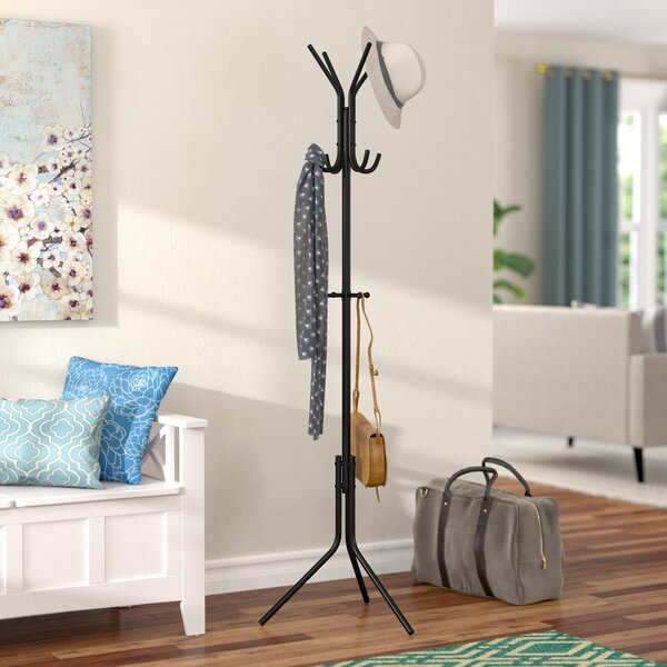 Metal Hat and Coat Rack by Rebrilliant