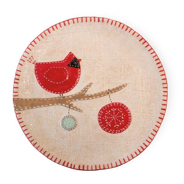 Ferranti Joy Cardinal Round Platter by The Holiday Aisle