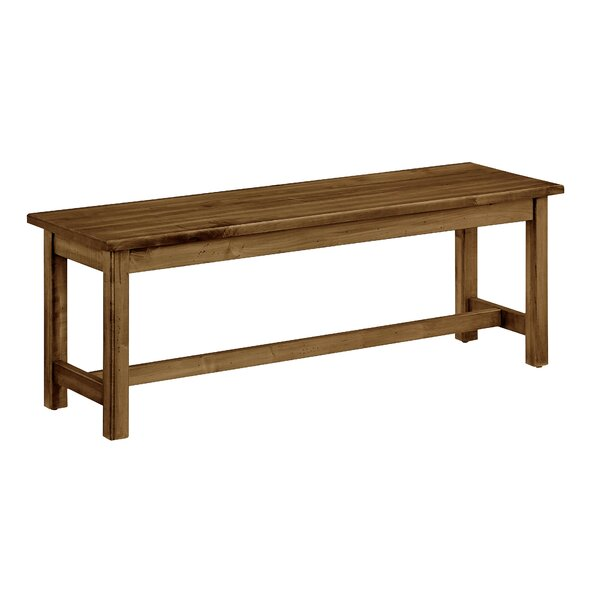 Rader Wood Bench by Gracie Oaks