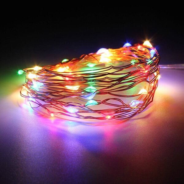 Battery Operated 20 LED String Lights by The Holiday Aisle