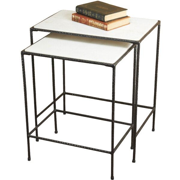Newton 2 Piece Nesting Tables by Interlude