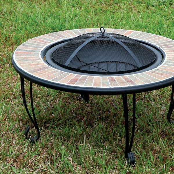 Ammon Cast Iron Fire Pit by A&J Homes Studio